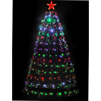 Led Topper Star Artificial Christmas Trees
