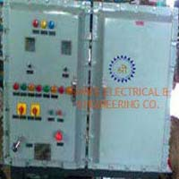 Flameproof Plc Automation Control Panel
