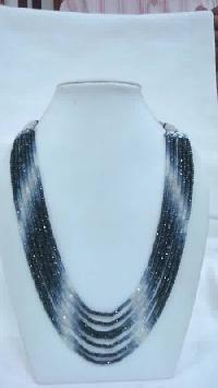 Blue Sapphire Shaded Beads