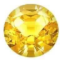 Yellow Sapphire Cut Stone