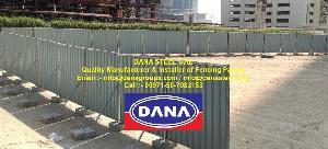 Fence Hoarding Panel Supplier In Dubai
