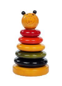 Golu Bhalu/ Wooden Stacker Educational Toy