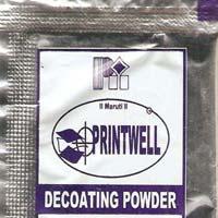 Screen Decoating Powder