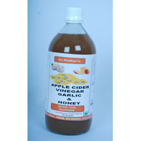 Apple Cider Vinegar With Garlic And Honey