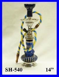 Hookah Glass Blue 1 Pipe