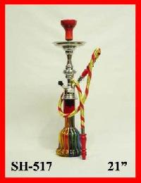 Hookah Glass Red 1 Pipe