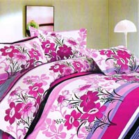 100% Cotton Floral Double Bed Sheet