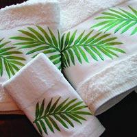 Bath Green Towel