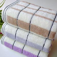 Check Bath Towel