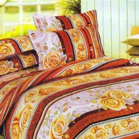 Comtemporary Double Bedsheet with 2 Pillow Covers