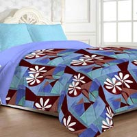 Linen Comtemporary Double Bedsheet with 2 Pillow Covers
