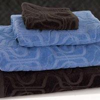 Self Texture Cotton Bath Towel