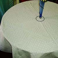 Self Texture Table Cover