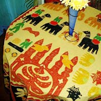 Traditional Round Table Cover