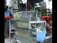 Raw Mango Cutting Machine