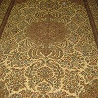 8 X 10 Silk On Cotton Carpet