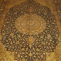 9 X 12 Silk On Cotton Carpet
