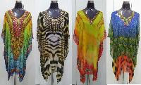 Beachwear Resort Wear Digital Print Kaftans