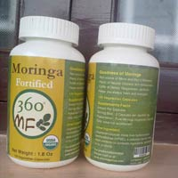 Moringa Leaf Powder Capsules