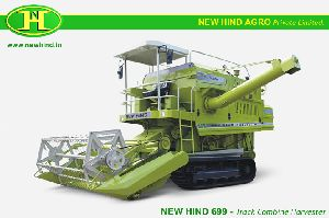 Mini Self Propelled Multicrop Combine Harvester