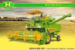 Multicrop Self Propelled Combine Harvester