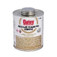 OATEY REGULAR CLEAR PVC CEMENT