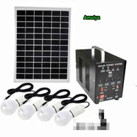 Mini Solar Home Lighting System