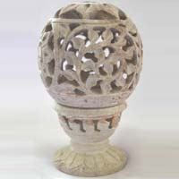 Marble Handicraft Candle Lamp