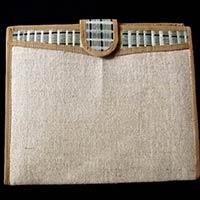 Bamboo Jute File Folder