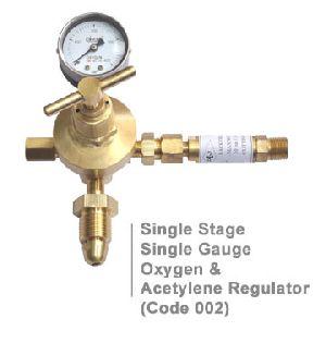 Single Stage Single Gauge Regulator