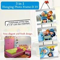 3 In 1 Hanging Metal Photo Frame