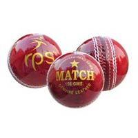 Match Indian Leather Ball