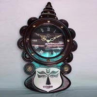 Wooden Handcrafted Clock