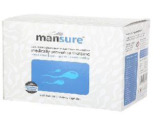 Mansure 100% Ayurvedic Capsules For Men - Male Reproductive Health