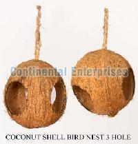 Coconut Shell Bird Houses1