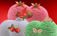 Fresh Fruit Ice Cream