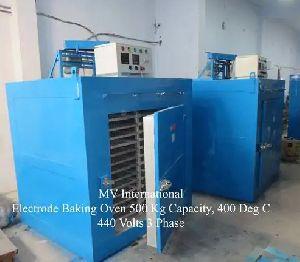 Electrode Baking Oven 500 Kg