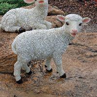 Standing Yorkshire Lamb Sculpture