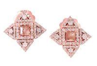 Diamond Compass Earrings