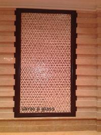 Geometric Glass Panel