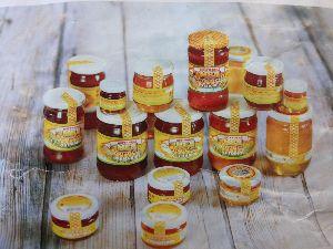 Natural Raw Honey (Glass Jars)