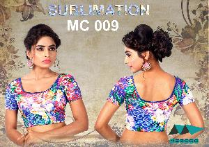 SUBLIMATED READYMADE BLOUSE