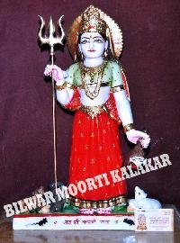 Marble Karni Mata Statue