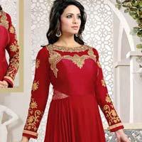 Designer Embroidered Long Anarkali Suits