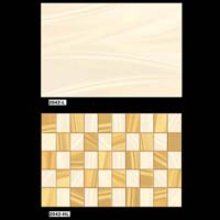 Golden Color Ceramic Wall Tiles