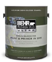 PREMIUM PLUS ULTRA Interior Semi-Gloss Enamel
