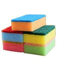 scrub sponge pad