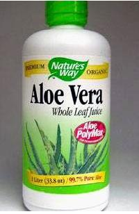 ALOE VERA WHOLE LEAF JUICE 1 LTR