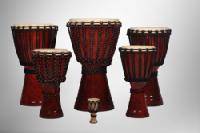 African Wooden Djembe Drum