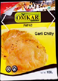 Omkar Garlic Chilli Papad